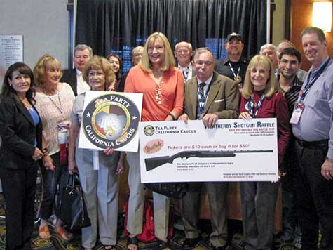 Tea Party Auctions off Shotgun at GOP Convention in L.A.