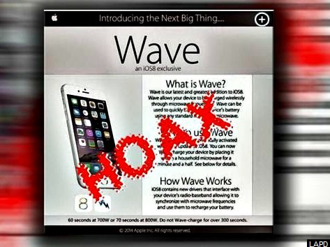 LAPD Warning: Do Not Charge iPhones in Microwave