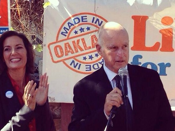 Jerry Brown Endorses Former Aide over Incumbent Oakland Mayor