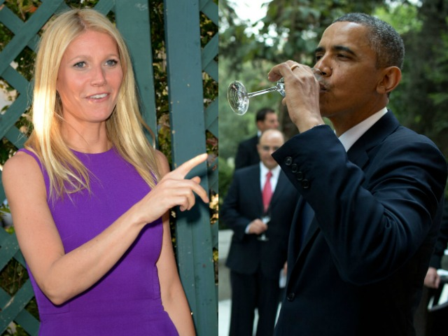 Gwyneth Paltrow Dazed by Obama: 'You're so Handsome that I Can't Speak Properly'