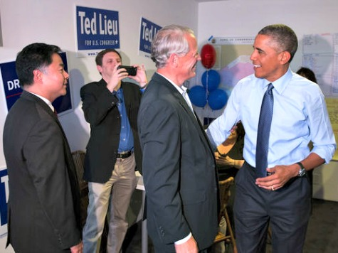 Obama Visits Ted Lieu's Campaign Headquarters