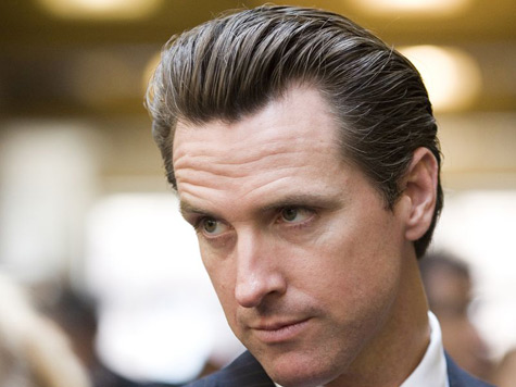 Gavin Newsom Gives California Voters the Finger