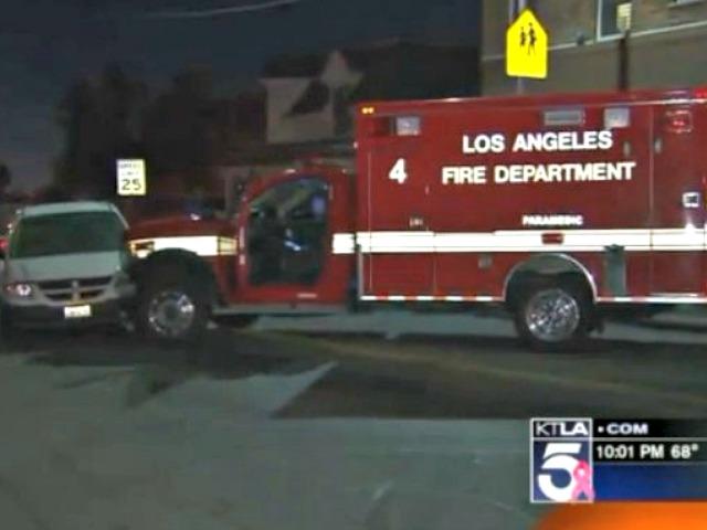 Man Allegedly Steals Ambulance Sent to Treat Him