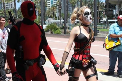 Superhero Street Performers Brawl on Hollywood Walk of Fame