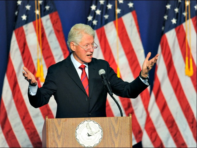 Bill Clinton Stumping in CA: 'Outside Money Meant to Diminish Voting'