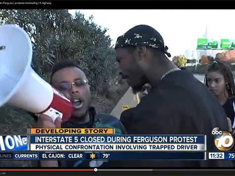 Ferguson Activist Sends Open Letter to I-5 Protester-Shoving 'Hero'