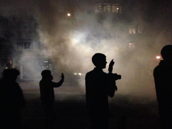 Concert Patrons Tear-Gassed in Violent Berkeley Protest