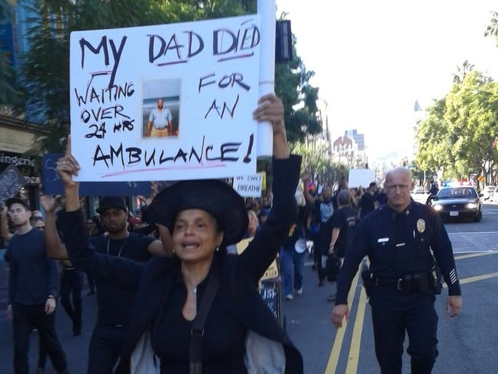 Hollywood Joins Nationwide Protests Against Ferguson, Garner Decisions
