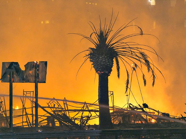 Massive Fire Covers Downtown L.A. with Ash