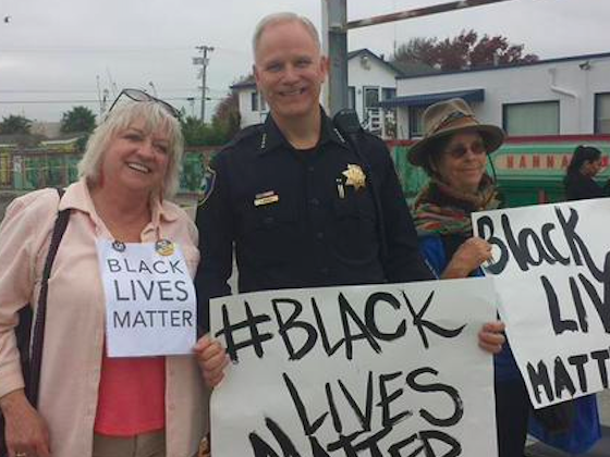 Richmond Police Chief Joins Protest Over Police Bias