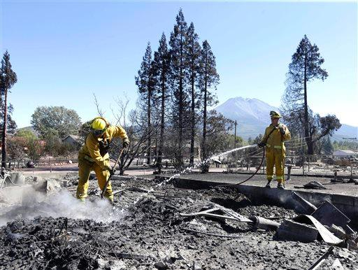 Weed Burns: At Least 100 Homes Destroyed, Thousands Evacuated in Small CA Town