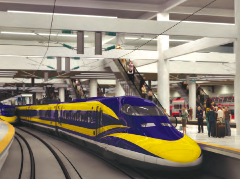 CA High-Speed Rail Lowers Revenue Projections