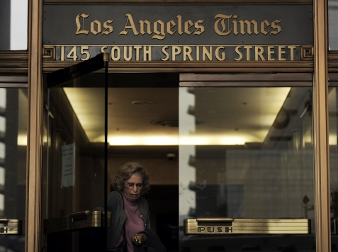 Under Pressure, L.A. Times Shifts Coverage of Minimum Wage