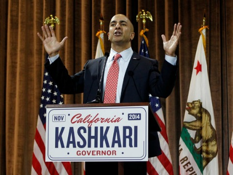 Brown Lead Over Kashkari Shrinks to 16 Points