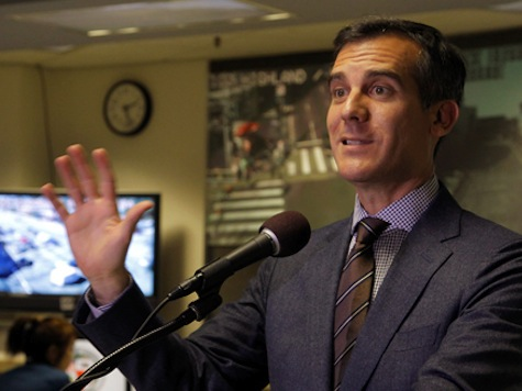Garcetti Promises No Rate Hikes, Lower Business Taxes