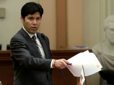 State Senator Kevin de León's Flyer Has Him Running for the Wrong Chamber