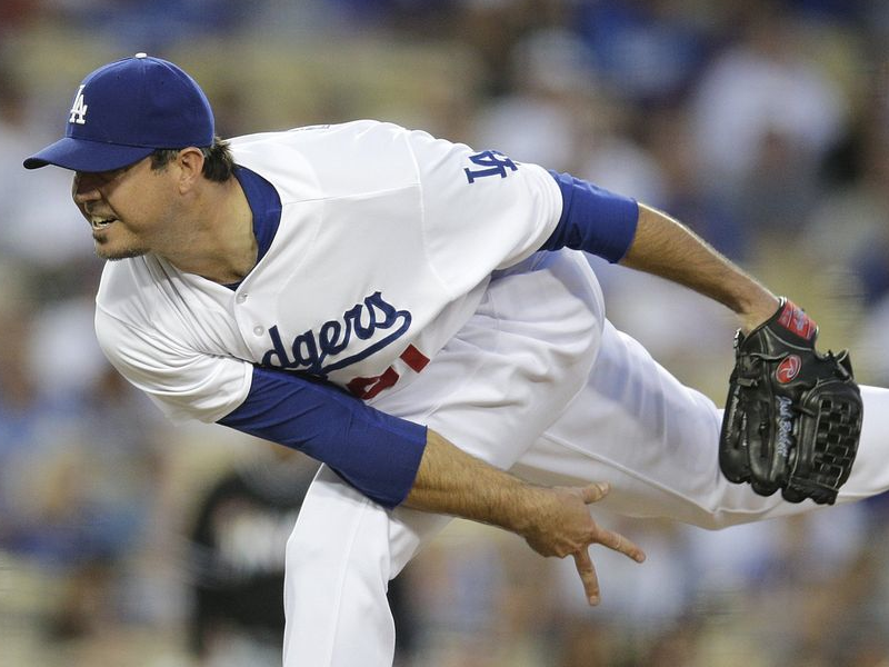 Dodgers' Beckett Pitches No-Hitter