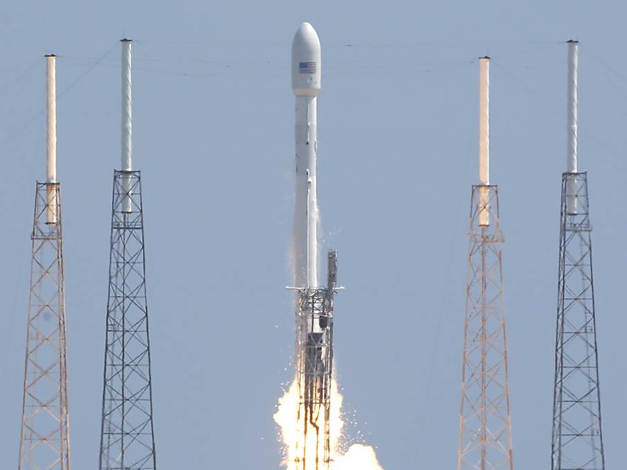 SpaceX Rocket Self-Destructs All Over Texas