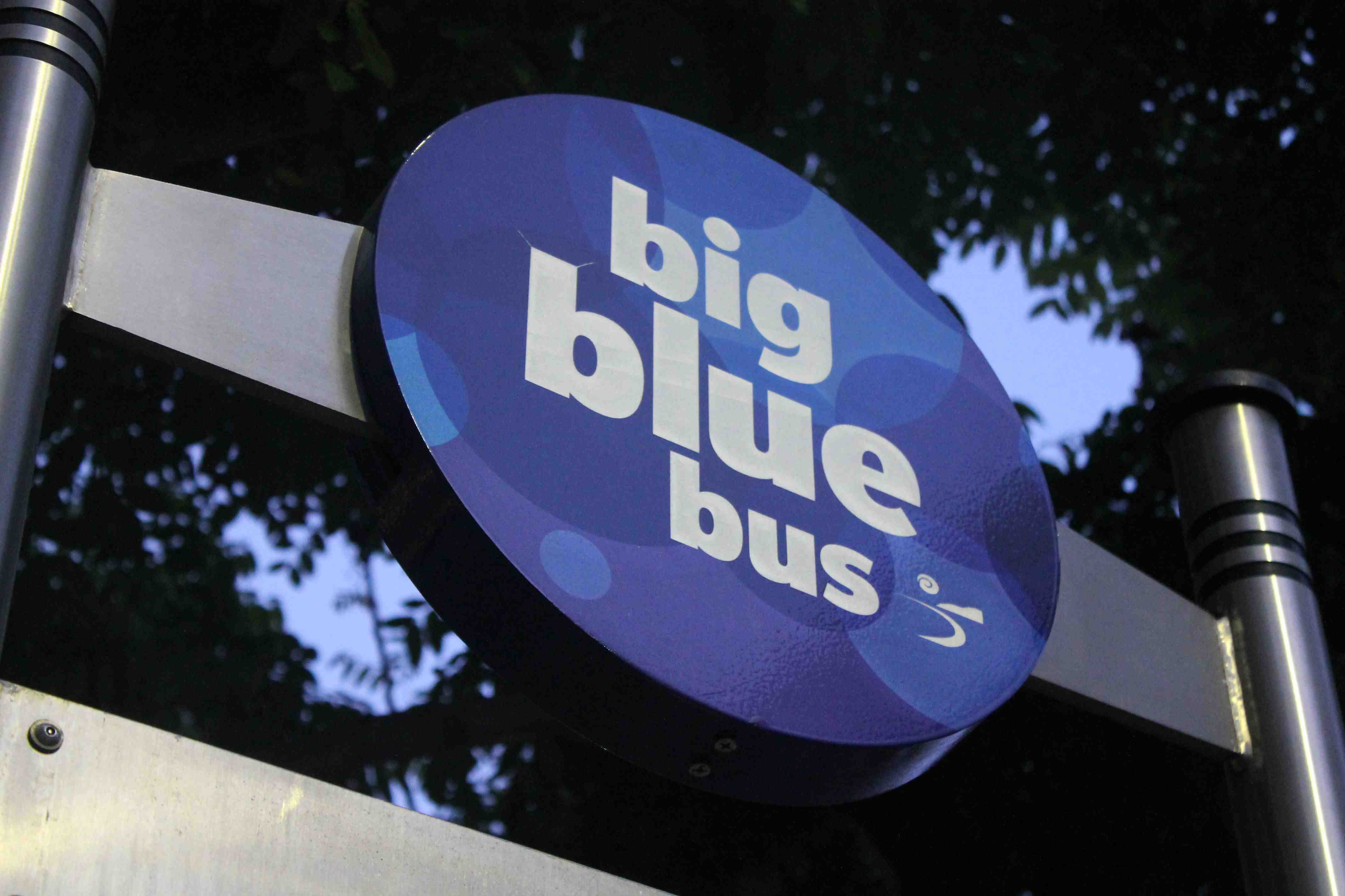 Big Blue Bus: 7000 Words, 135 Miles, 18 Buses, 4 Dollars, 1 Day