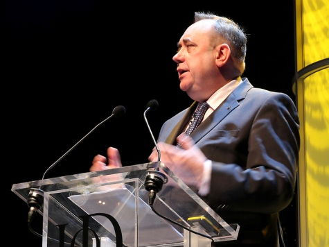 Salmond Suggests Scotland Is a 'Nation of Drunks'