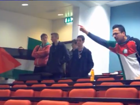 'You're F**king Zionist, F**king Pr*cks' - Anti-Israel Activist Launches Into Expletive-Ridden Tirade at Irish University