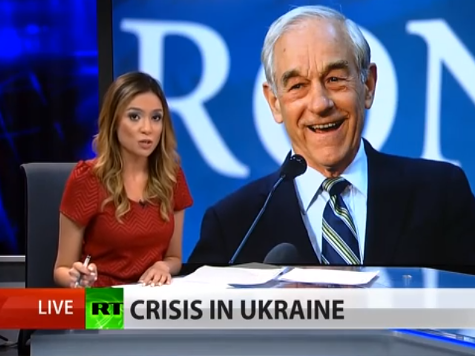 Ron Paul Accuses Cabal of U.S 'bankers' for Ukraine Crisis