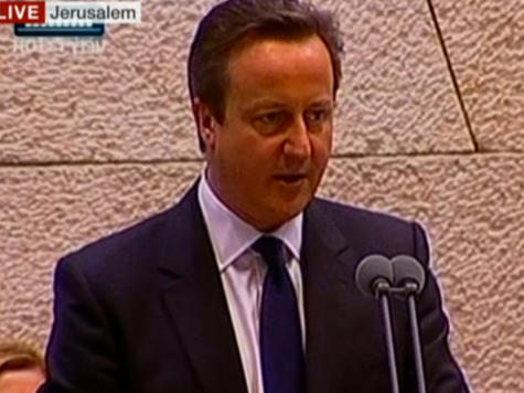 Cameron In Israel: 'Delegitimising Israel is abhorrent and together we will defeat it'