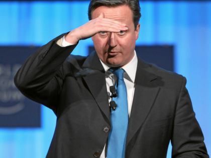 Cameron: Give Us Access To Your Bank Accounts or We'll Raise Taxes
