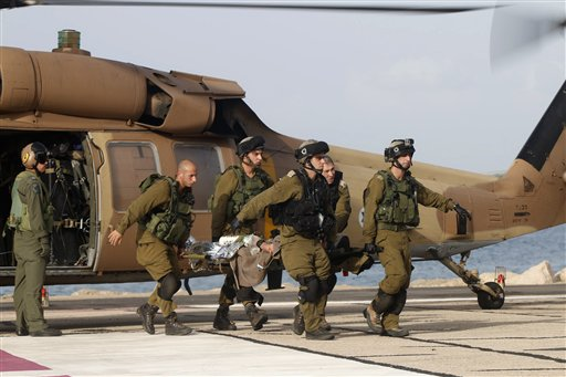 Israel strikes Syrian army targets after Roadside Bomb Wounds IDF soldiers