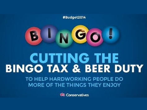 The Beer and Bingo Poster is What Happens when the Tories are Led by Liberal-Elites Instead of Conservatives