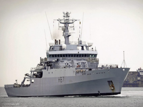 British Naval Ship Joins Malaysian Plane Search