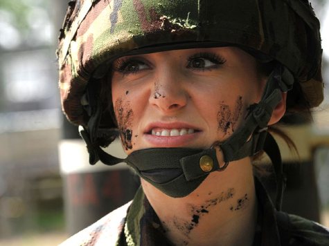 Percentage of UK Military Women Hits All-Time High, Still Behind America, Australia and Israel