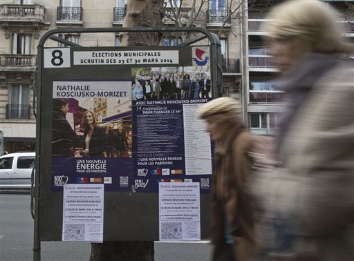 French 'Far Right' Set To Surge In Municipal Elections