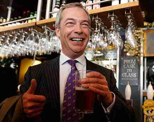 UKIP at Record Poll High, Farage is Most Popular Leader