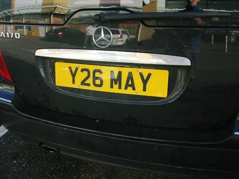 Europe Threatens to Axe UK Car Number Plates