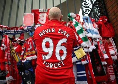 Liverpool Football Club honours Hillsborough Dead, 25 years on