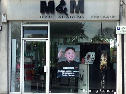 'This is England, not North Korea' - UK Hairdresser Tells Kim Jong Cronies Who Demand Removal of Parody Poster