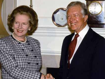 Jimmy Carter: Hague is a Hero of Mine And Thatcher Knew More About My Country Than I Did