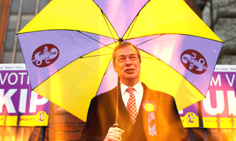 UKIP Under Fire but Polls Show Public Backs Farage & Co.