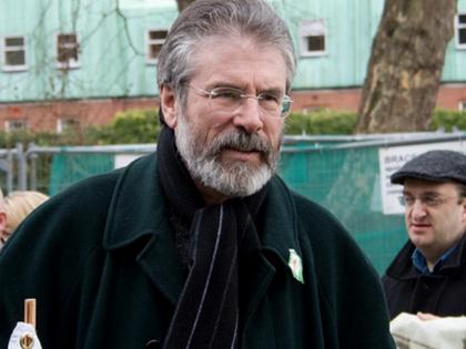 Republican Leader Gerry Adams Held Over 1972 Murder