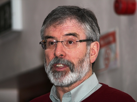 IRA partner party now topping opinion polls in Ireland