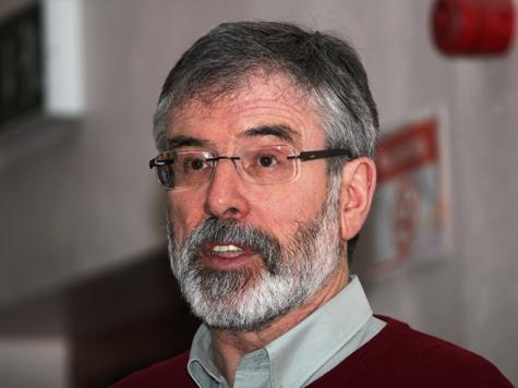 Sinn Feinn's McGuiness Blames 'Negative and Destructive' Police Agenda for Gerry Adams Arrest