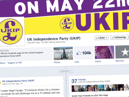 UK Parties Popularity Shift… on Facebook