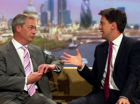 Farage Challenges Miliband to Head-to-Head Televised Debate