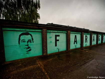 'If You Own a Garage Vote Nigel Farage' Claims 'Pro-UKIP' Guerrilla Graffiti Group