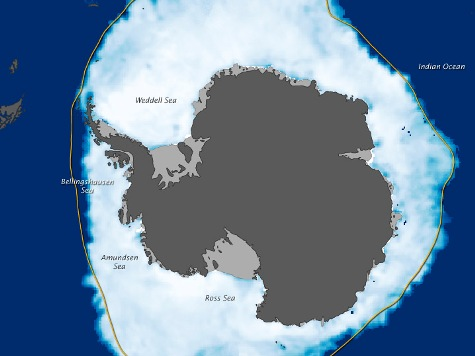 Antarctic Sea Ice Hits Record Levels