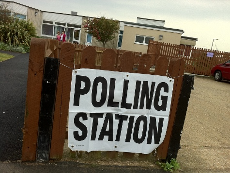 Cops Called In to Halt Islamist Bullies Patrolling UK Polling Stations