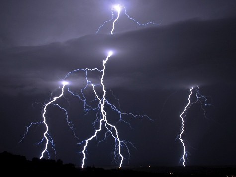 Entire Family Struck by Lightning