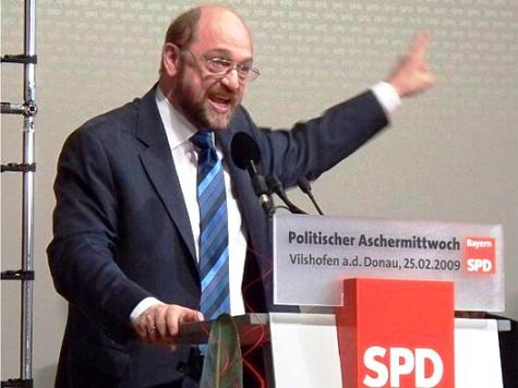 Poll: German Socialist Euro-Fanatic Set to Lose Bid to Become Commission President