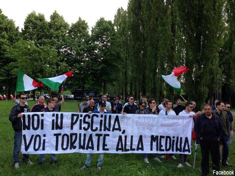 Italian Far-Right Protest Muslim Women-Only Swimming Time